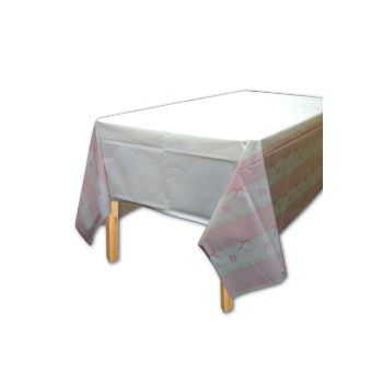 BABY SOFT PINK   TABLE COVER