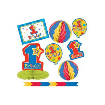 1st BIRTHDAY   DECORATING KIT