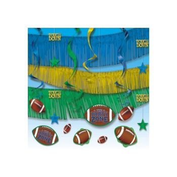 FOOTBALL PARTY   DECORATION KIT