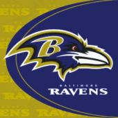 Baltimore Ravens Luncheon Napkins - 16 per Unit