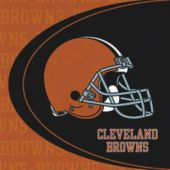 Cleveland Browns Luncheon Napkins - 16 Pack
