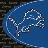 Detroit Lions Lunch Napkins - 16 Pack