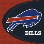 Buffalo Bills Luncheon Napkins - 36 Pack