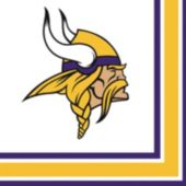 Minnesota Vikings Luncheon Napkins - 16 Pack