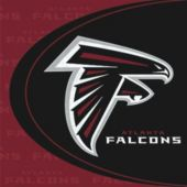Atlanta Falcons Luncheon Napkins - 36 Pack