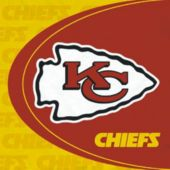 Kansas City Chiefs Luncheon Napkins - 16 Pack