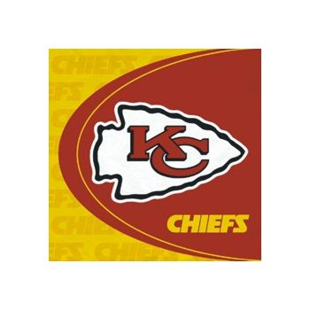 KANSAS CITY CHIEFS   LUNCHEON NAPKINS