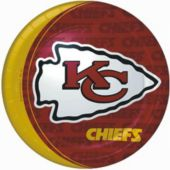 "Kansas City Chiefs 9"" Plates - 8 Pack"