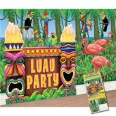 Luau Party Decorating Kit