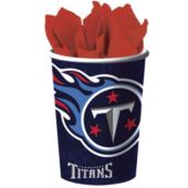 Tennessee Titans   16 Oz. Cups - 12 Pack