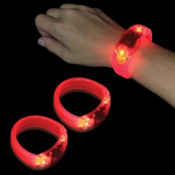 Red LED Bangle Bracelet
