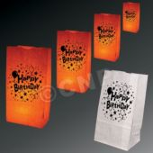 Happy Birthday Luminary Bags - 50 Pack