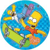 "The Simpsons 10"" Paper Plates - 8 Pack"