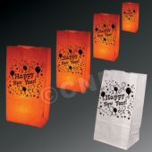 Happy New Year Luminary Bags - 50 Pack