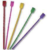 "Assorted Color 16"" Backscratchers - 12 Pack"