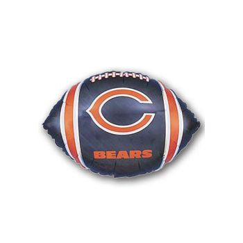 Chicago Bears Football Metallic Balloon - 18 Inch