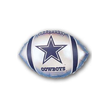 Dallas Cowboys Football Metallic Balloon - 18 Inch