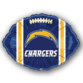 San Diego Chargers Football Metallic Balloon - 18 Inch