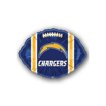 San Diego Chargers Football Metallic Balloon - 18 Inch