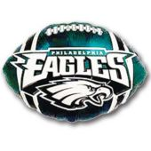 Philadelphia Eagles Football Metallic Balloon - 18 Inch