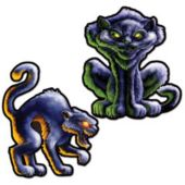 Black Cat Cutouts-2 Pack