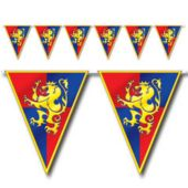 Medieval Pennant Banner Decoration