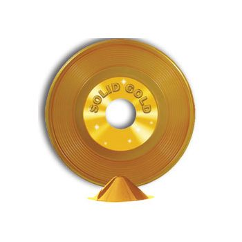 GOLD RECORD CENTERPIECE