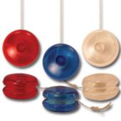 "Red, White & Blue Mini 1 1/4"" Yoyos - 12 Pack"
