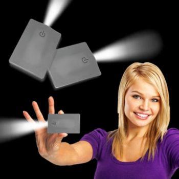 Silver Credit Card Pocket Light