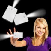 White Credit Card Pocket Light