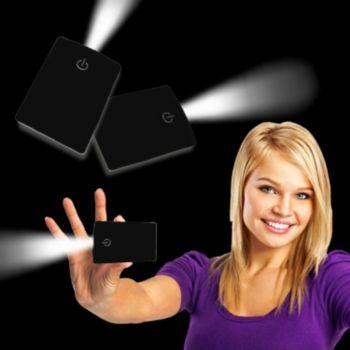 Black Credit Card Pocket Light