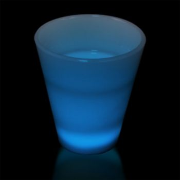 Blue LED Shot Glass - 2 Ounce
