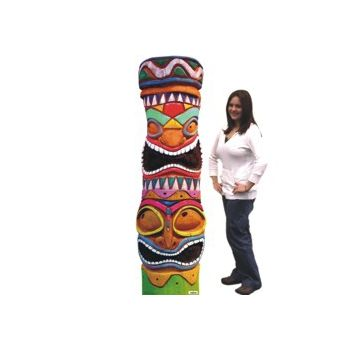 TIKI POLE   CARDBOARD   STAND UP