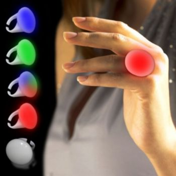 Seven Color LED Button Ring