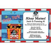 Pirates Treasure   Personalized Invitations