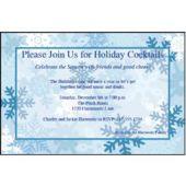 Winter Snowflake   Personalized Invitations