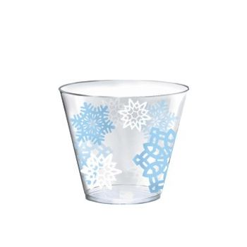 WINTER SNOWFLAKE   9oz TUMBLERS