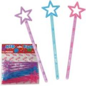 Princess Magic Wands - 12 Pack