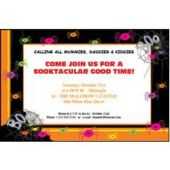 Spider Frenzy   Personalized Invitations