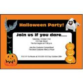 Happy Halloween  Personalized Invitations
