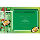 Touchdown Personalized Invitations
