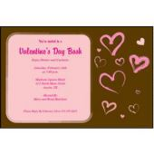 Modern Hearts Custom Invitations