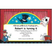 Abracadabra Magic Personalized Invitations