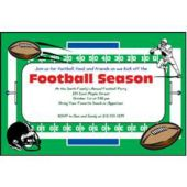 Football Field Custom Invitations