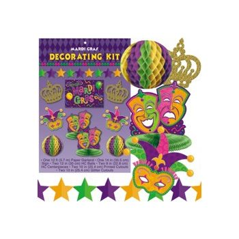 MARDI GRAS  DECOR KIT