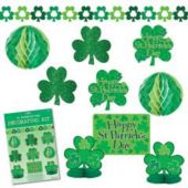 10 Piece St. Patrick's Day Decorating Kit