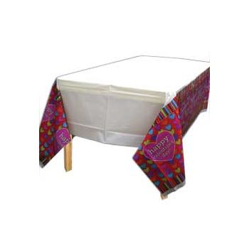 HIP HEARTS TABLE COVER