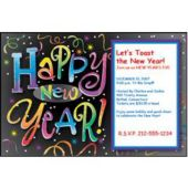 New Years Countdown Personalized Invitations
