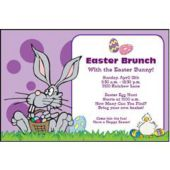 Easter Bunny Personalized Invitations