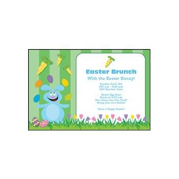 Easter Celebration Personalized Invitations
